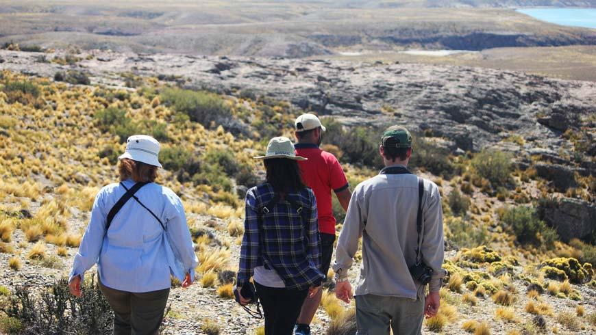 Caminata en el cerro